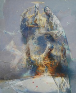 Throwing of the Dice. Oil on canvas. 120 x 100. 2010